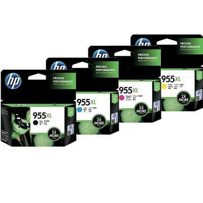 HP Genuine 955XL / Value Pack High Yield Ink for OFFICEJET PRO 8210 8216 8710