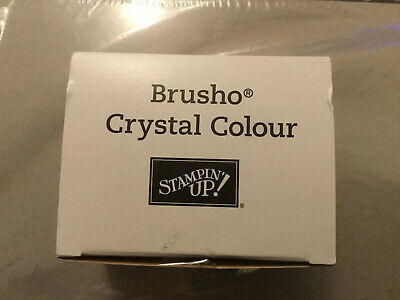 Stampin Up Brusho Crystals, Brand New, 5 In The Original Box