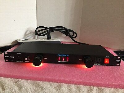 Furman M-8D 9-Outlet 15 Amp Power Conditioner Surge Protector W/ Lights