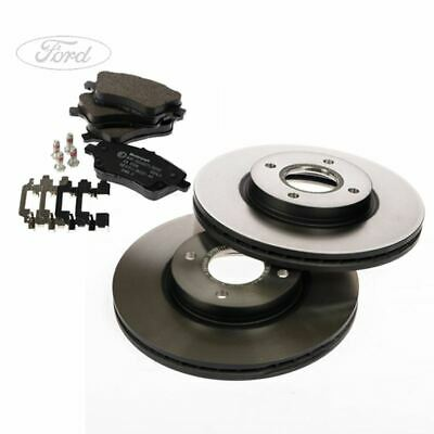 Genuine Ford Fusion Front Brake Discs /& Pads Set Hatchback 2002-2012