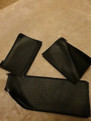 Bugaboo BUFFALO faux leather handle bar & bumper COVERS ONLY Black