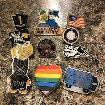 amazon collection employee pins peccy 10