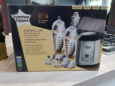 Tommee Tippee EXPRESS and GO breastfeeding set