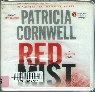 Red Mist by Patricia Cornwell 11 CDs Audio Book