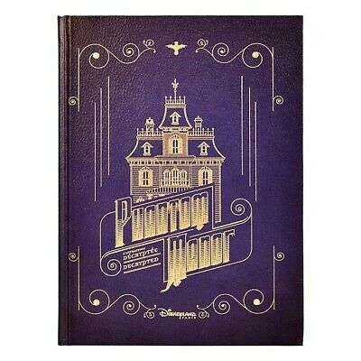Disneyland Paris- Livre Phantom Manor  FR et EN Neuf + Stickers  - Sold Out