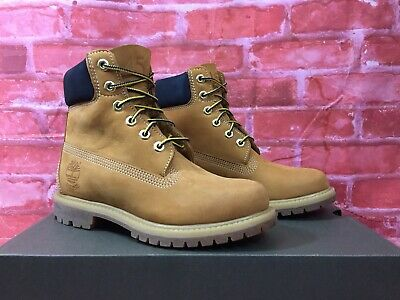 TIMBERLAND 6 INCH Premium Boots Youth Stiefel Wheat Beige