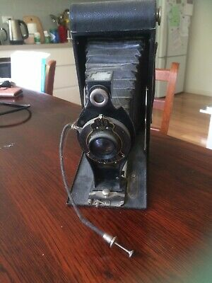 No. 3A folding autographic Brownie vintage camera