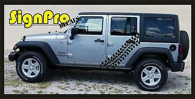 MUD SLUT Vinyl Sticker Jeep Wrangler 4x4 Mudder Super Swamper Ground Hawg Terra