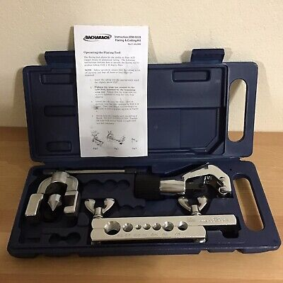 BACHARACH Flaring and Cutting Kit, 4 Pc 2002-6400