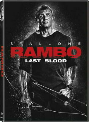 Rambo Last Blood DVD 2019 Preorder - Action / Thriller - Sylvester Stallone