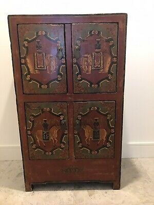 Antique Chinese Marriage Cupboard