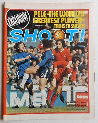 SHOOT Football Magazine - 19 June 1971 - Malcolm MacDonald, Sandy Jardine