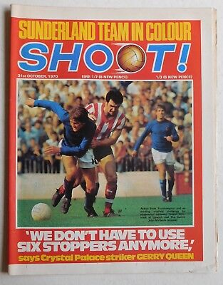 SHOOT Football Magazine - 31 October 1970 - Sunderland, Francis Lee