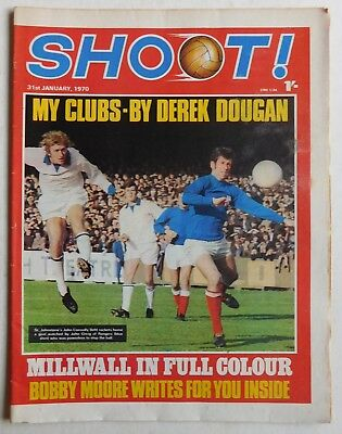 SHOOT Football Magazine - 31 January 1970 - Millwall, Francis Prince