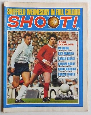 SHOOT Football Magazine - 14 February 1970 - Sheffield Wednesday, Duncan Forbes