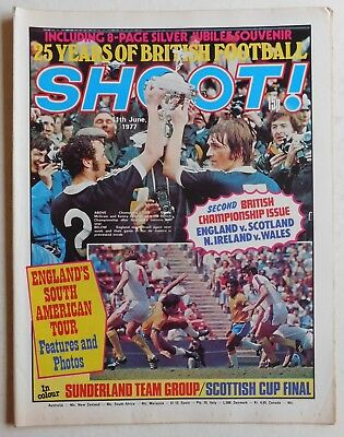 SHOOT Football Magazine - 11 June 1977 - Sunderland, Steve Daley