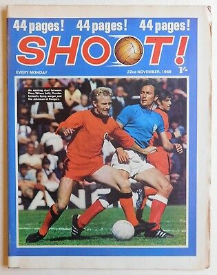 SHOOT Football Magazine - 22 November 1969 - Wolves, Alan Ball