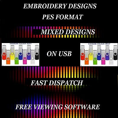 Embroidery Designs, Lol Dolls & Pets On Usb,  Pes Format