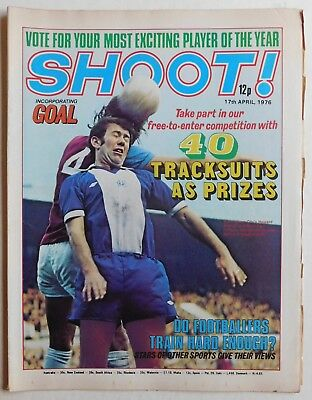 SHOOT Football Magazine - 17 April 1976 - Leicester City, Peter Shilton