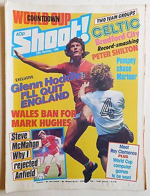 SHOOT Football Magazine - 19 October 1985 - Celtic, Davie McPherson