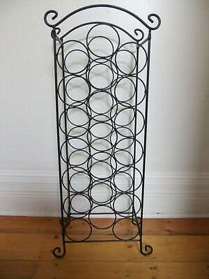 vidaXL Wine Rack for 21 bottles metal Home Bar Cabinet plus wine bottle carrier