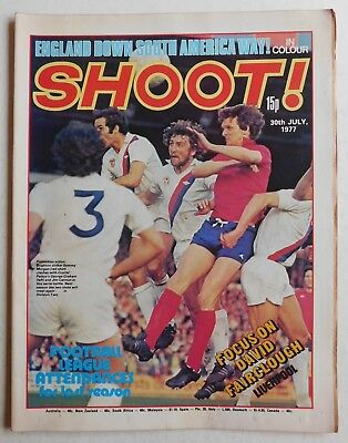 SHOOT Football Magazine - 30 July 1977 - Archie Gemmill, Duncan McKenzie