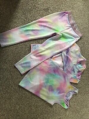 Girls Next Age 8 Years Active Wear/gym Outfit