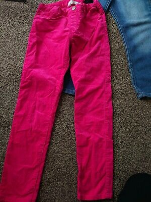 Girls H&M Corduroy Trousers, Excellent Condition, 8-9 Years