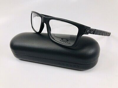 🔹New Oakley OX8026-0154 Satin Black CURRENCY Eyeglasses 54mm with Oakley Case