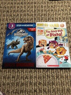 Lot Of 2 LEVEL 3 GRADE early readers learning phonics children books