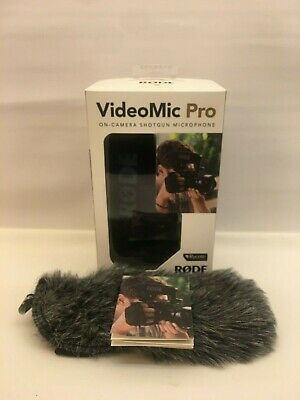 Rode VideoMic Pro with Rode Dead Cat