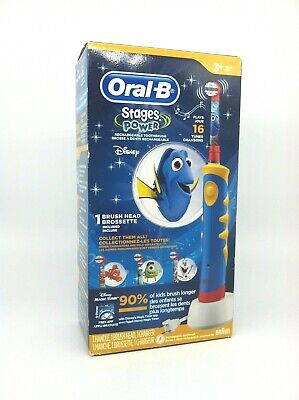 Oral B Finding Dory Kids Musical Rechargeable Toothbrush NEW