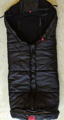 Kaiser Thermo Black Footmuff Excellent Condition