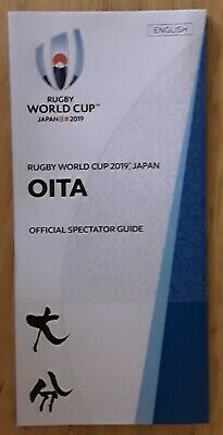 Official Spectator Guide -Oita-Rugby World Cup 2019 Japan In English