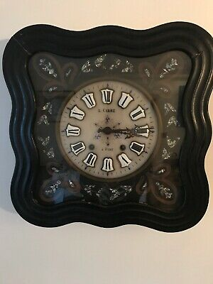 Antique French Napolian 111 Wall Clock double chimer