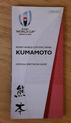 Official Spectator Guide-Kumamoto-Rugby World Cup 2019 Japan