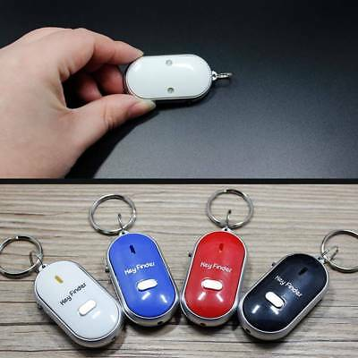 Lost Car Key Finder Locator With Led Light Just Whistle Key Ring Whistle