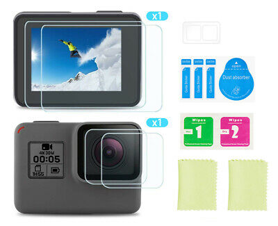 Fits GoPro Hero 8 Tempered Glass H9 Lcd Screen and Lens Protector