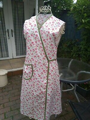 1940's Style WW 2 crossover apron re-enactment, themed events (SMALL 10/12)