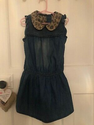 Next Girls Dress With Matching Tights - Age 4-5