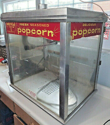 Used/Vintage Commercial Popcorn Maker Machine- Pop a lot- Gold Medal Products