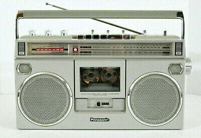 Panasonic RX-5090 AM-FM Vintage Stereo Cassette Boombox (REFURBISHED) **Video**
