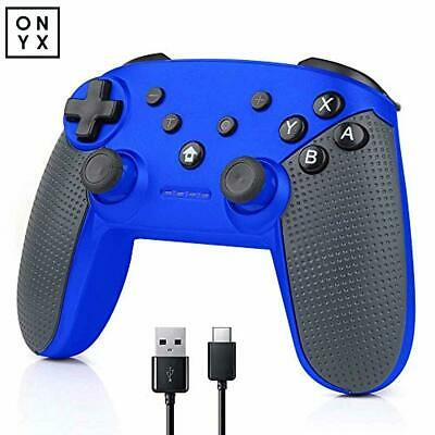 Nintendo Switch Pro Controller, Yamei Nintendo Switch Wireless Controller Blue