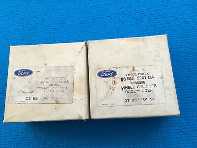 NOS GENUINE FORD...Escort Sierra Rear Wheel Brake Cylinders Pair