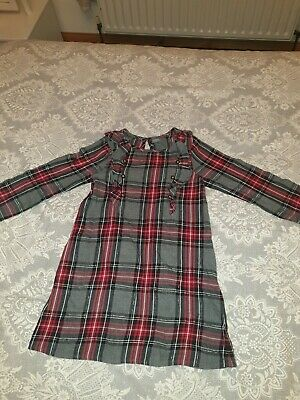 Next Check Girls Dress age 6 Years Winter Christmas  pre owned