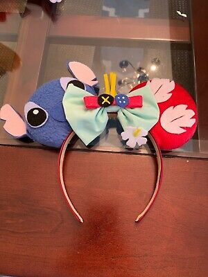 Disney Parks Mickey Minnie Ears. Etsy Made. LILO And stitch.