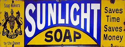 "TIN SIGN /""Volvolutum Soap B/"" Soap Mancave Wall Decor"