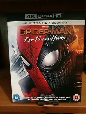 Spider-Man: Far From Home - 4K Uhd & Blu-Ray - 2 Discs - Watched Once