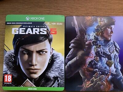 Gears Of War 5 Ultimate Steelbook Edition Xbox One