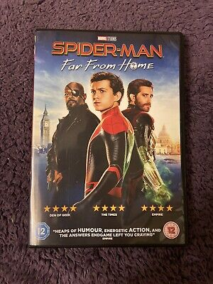 Spiderman Far From Home Dvd New